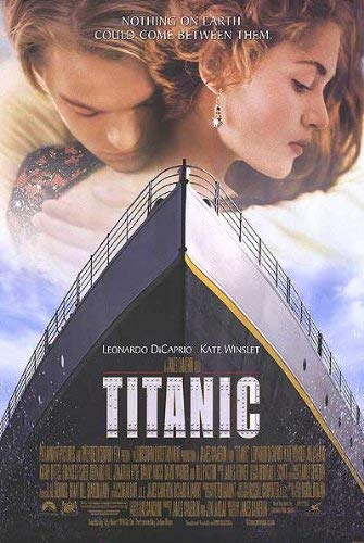 OFFICIAL POSTER OF TITANIC